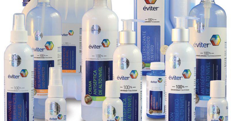 Eviter, la más avanzada tecnología de antisépticos, desinfectantes y esterilizantes.